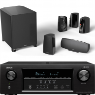 DEFINITIVE TECHNOLOGY PROCINEMA 400 5.1 Speakers w/ Denon AVR-S730H