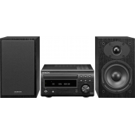 DENON D-M41 CD/FM Micro Desktop Stereo System w/Bluetooth® NEW