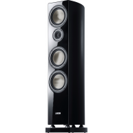 "CANTON Vento 896 DC 8"" 3-Way Floorstanding Speaker Black Gloss Each"