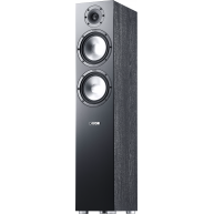 "CANTON GLE 476.2 7"" 3-Way Floorstanding Speaker Black Each"