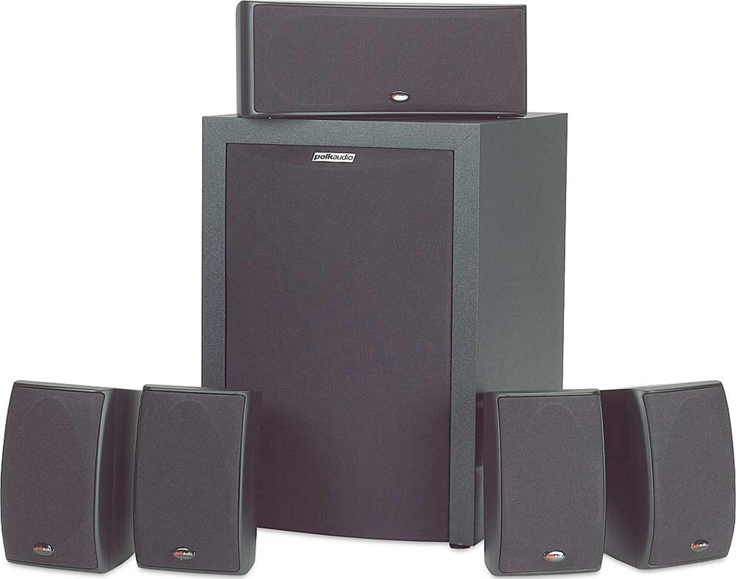 POLK AUDIO RM6750 5 Piece Home Theater Package