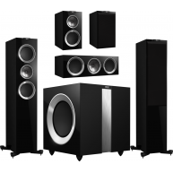 KEF R Series 5.1 Home Theater System With FREE R400 Subwoofer