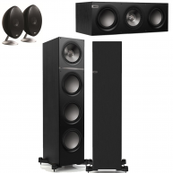 KEF KEF 5 Speaker Bundle Package Q700 Q600c and free E301 rear surrounds!