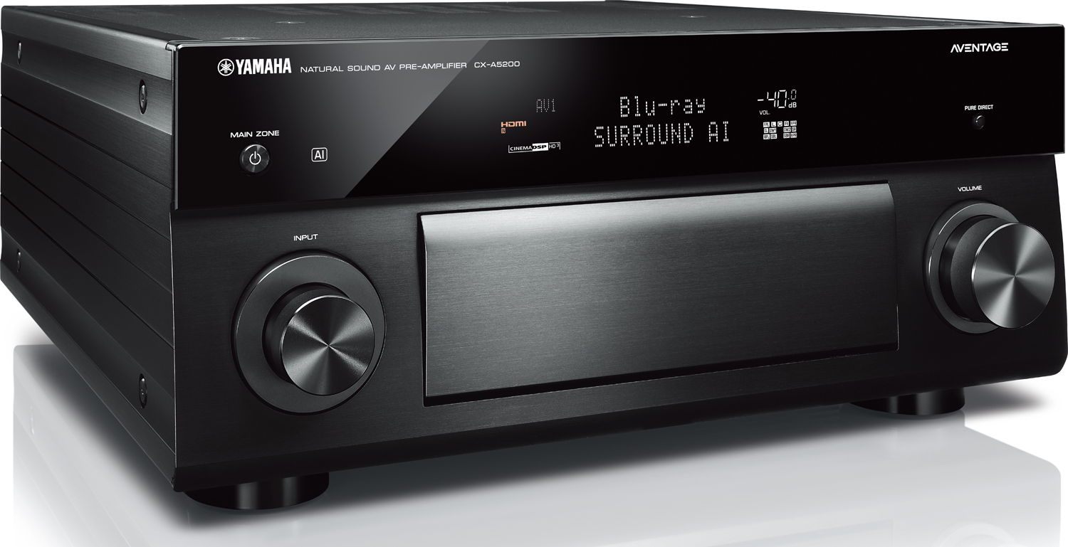 YAMAHA CX-A5200 11.2-Channel Preamp/Processor w/Dolby