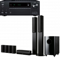 ONKYO TX-NR686 & SKS-HT870 Home Theater System