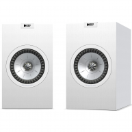 "KEF Q350 6.5"" 2-Way Bookshelf Speaker White Pair NEW"
