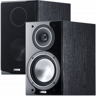 "CANTON Chrono 512 6"" 2-Way Bookshelf Speaker Black Pair"
