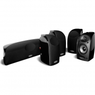 POLK AUDIO TL150 5 Piece Home Theater Package Black