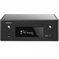 DENON CEOL RCD-N10 Compact Stereo Receiver w/ CD player, Bluetooth, AirPlay 2, and HEOS Cosmetic Imperfection