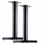 "CANTON LS660 24"" Speaker Stands Gloss Black Pair"