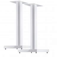 "CANTON LS660 24"" Speaker Stands Gloss White Pair"