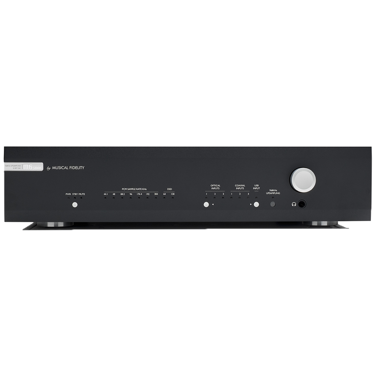 MUSICAL FIDELITY M6S DAC Digital-to-Analog Converter Black