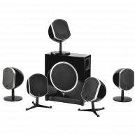 FOCAL 5.1 Bird / Sub Air Home Theater Package Black