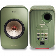 KEF LSX Wireless Music System Olive Pair