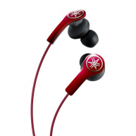 YAMAHA EPH-M200 In-ear Headphones w/Remote & Mic Red NEW