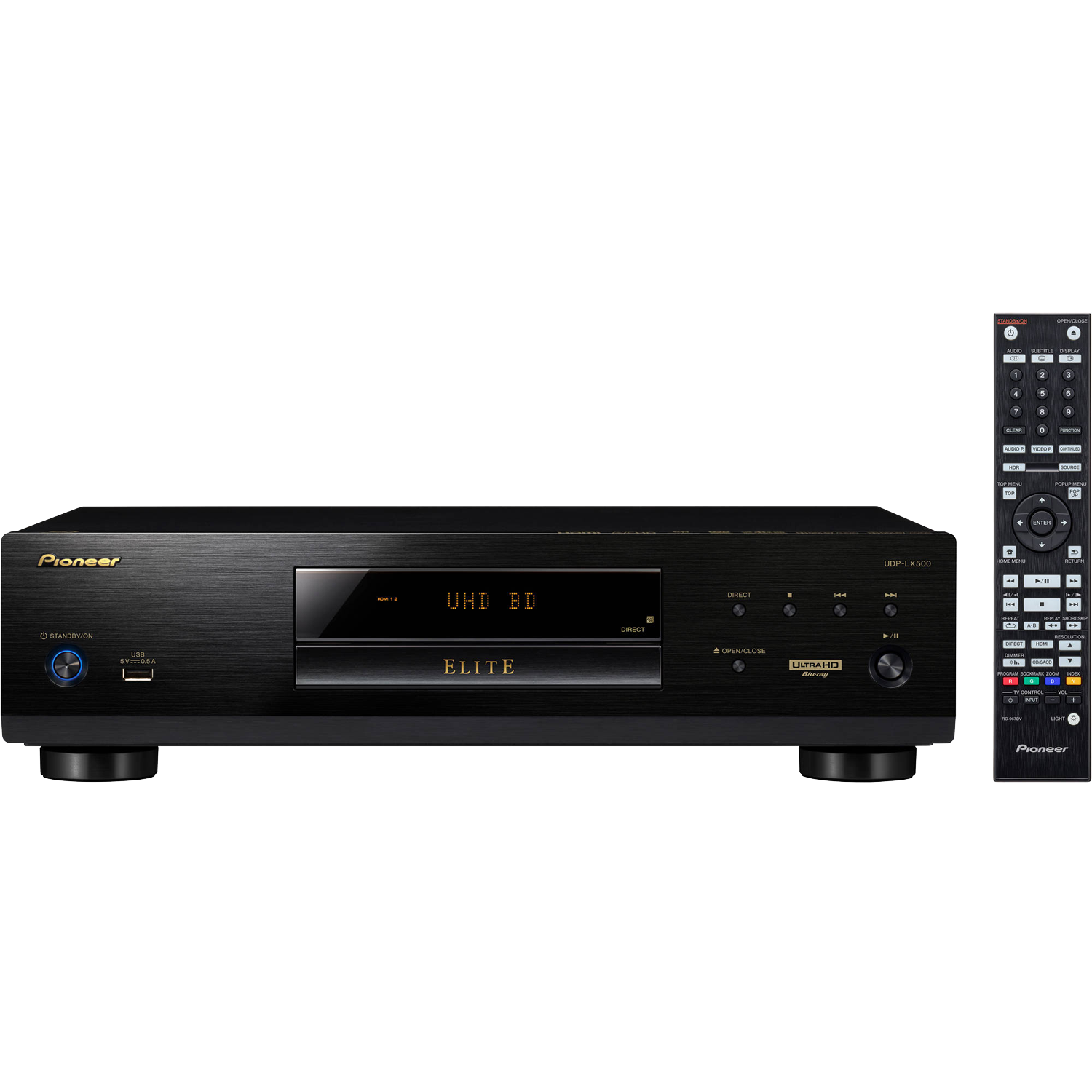 PIONEER UDP-LX500 HDR UHD 4K Blu-ray Disc Player