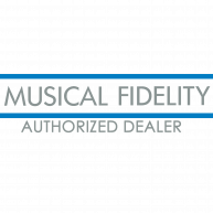 MUSICAL FIDELITY Authorized Dealer Logo
