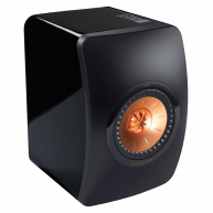 "KEF LS50 5.25"" 2-Way Mini Monitor High Gloss Black Each SINGLE SPEAKER (1)"