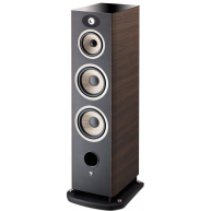 "FOCAL Aria 948 8"" 3-Way Floorstanding Speakers Dark Walnut Each NEW"