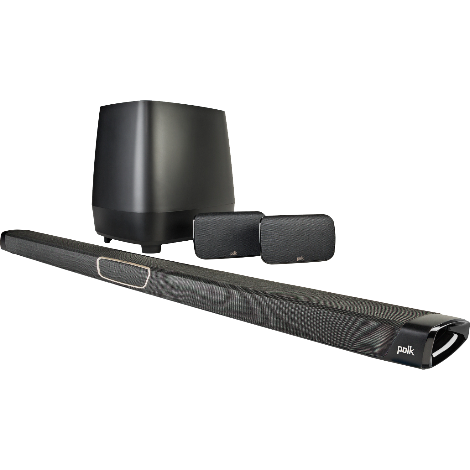 POLK AUDIO MagniFi MAX SR Soundbar w/ Sub and Surround Speakers