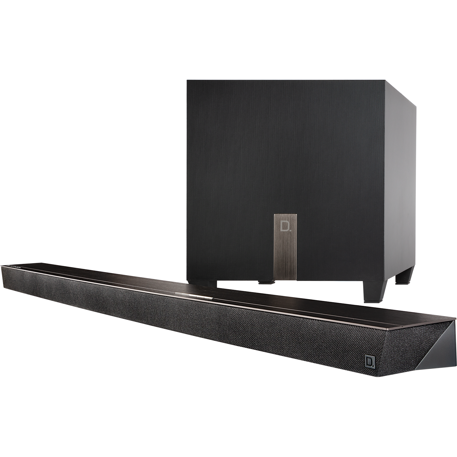 DEFINITIVE TECHNOLOGY Studio Slim 3.1 Soundbar w/Wireless Subwoofer Chromecast Built-in