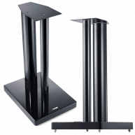 CANTON LS860 Speaker Stands Black Gloss Pair NEW