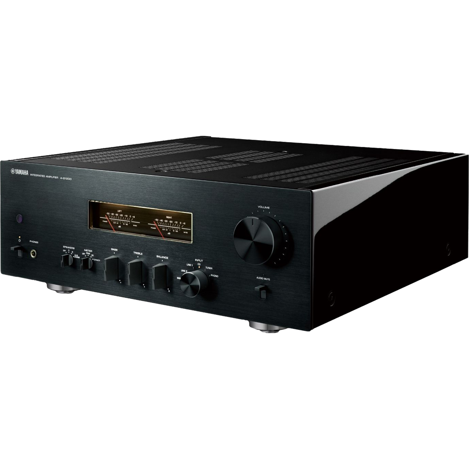 YAMAHA A-S1200 Stereo Integrated Amplifier Black NEW