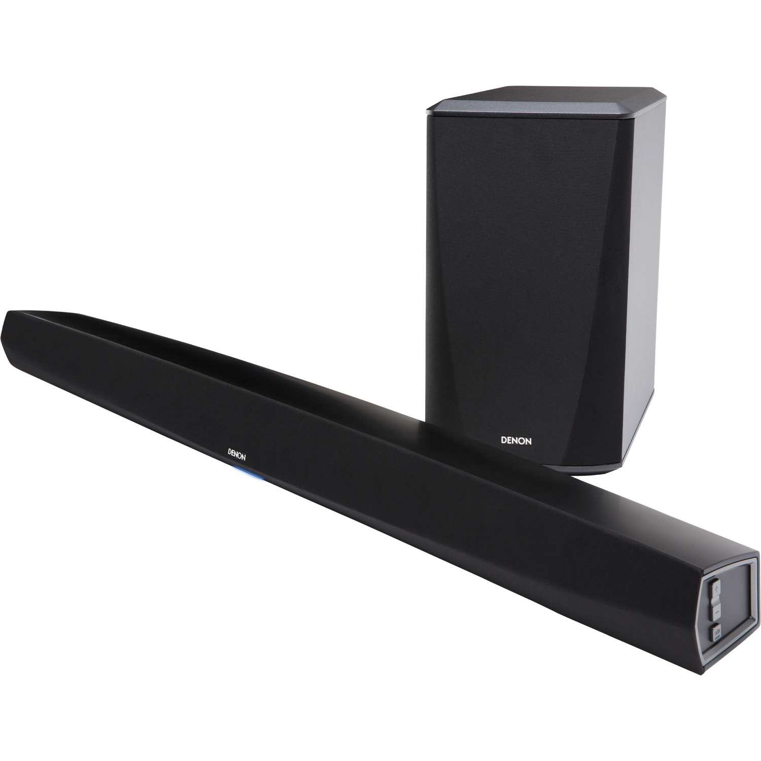 DENON DHT-S516H Sound Bar and Wireless Subwoofer with HEOS