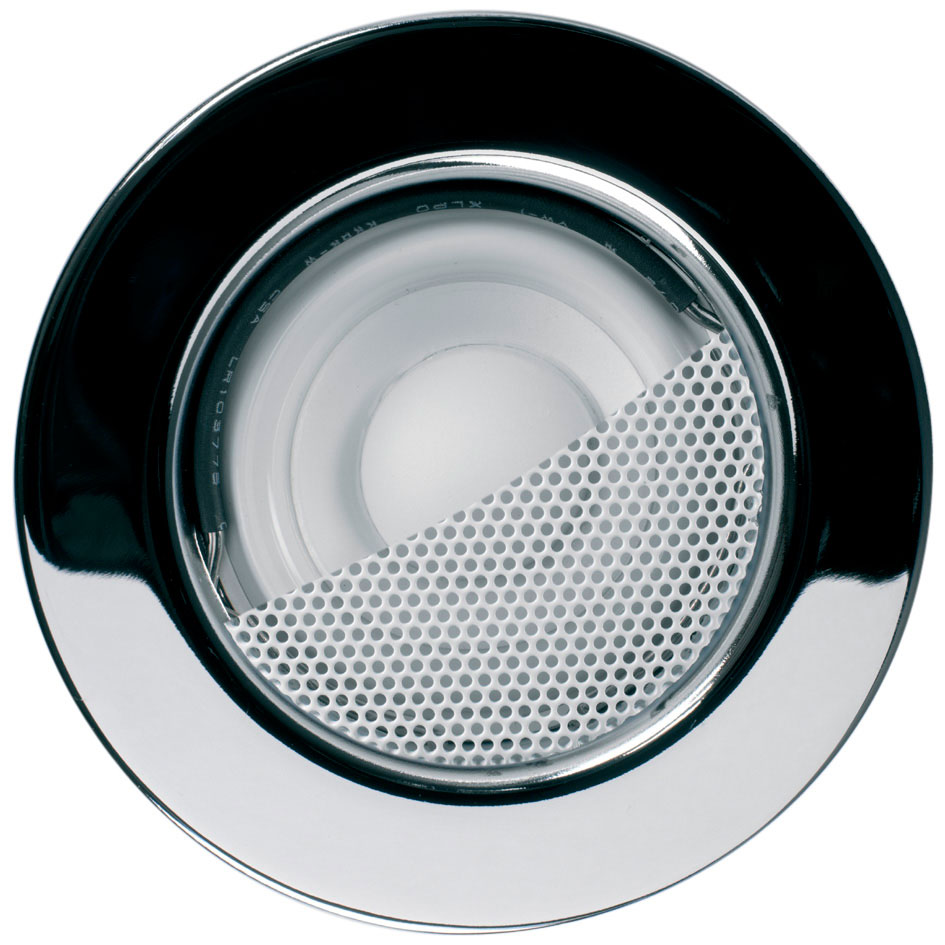 KEF Ci50R EACH Small In-Ceiling Soundlight Speaker Chrome