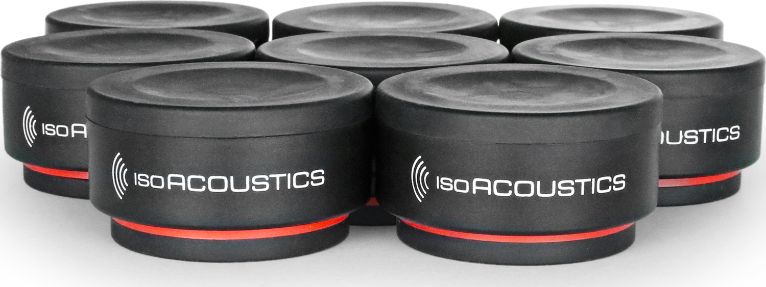 ISOACOUSTICS ISO-PUCK mini Modular Solution for Acoustic Isolation (8-Pack)