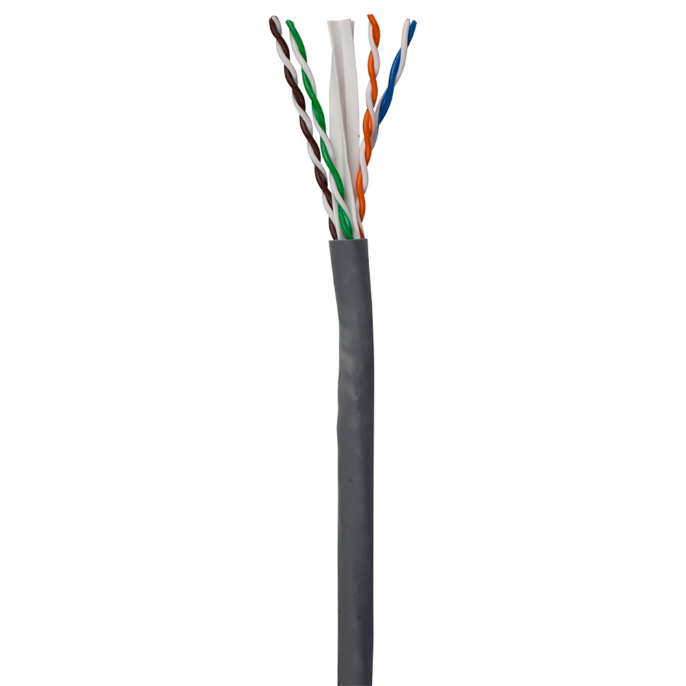 ETHEREAL CAT-6-GY-R 723ft CAT-6 Cable 550Mhz Cat6 Gray