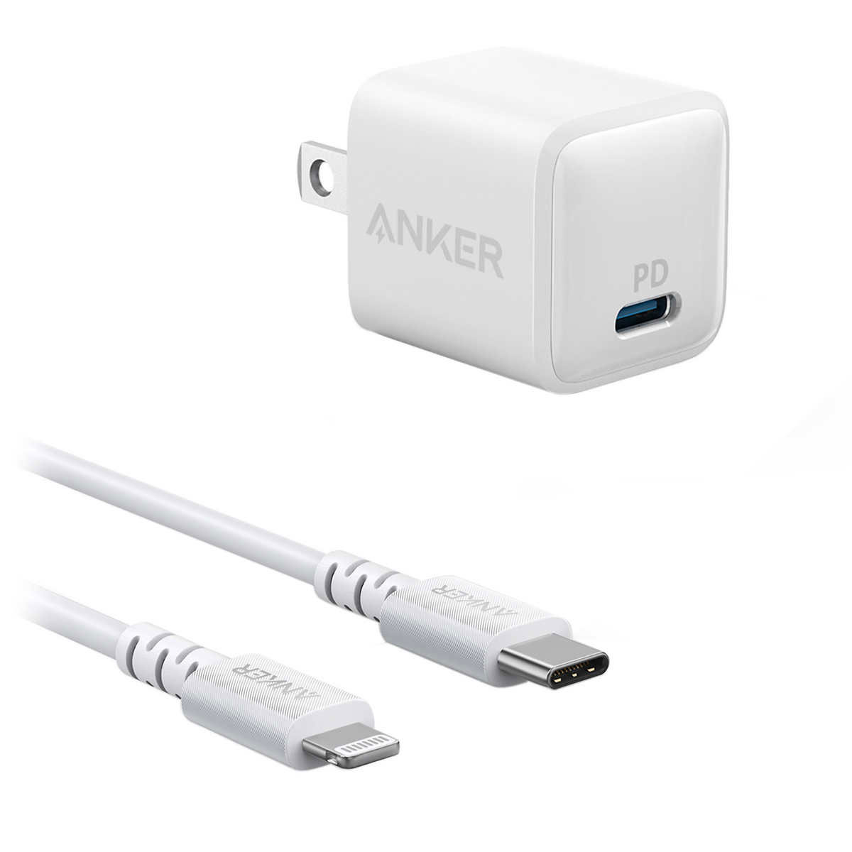 ANKER PowerPort Nano PD USB-C Charger & Cable OPEN BOX