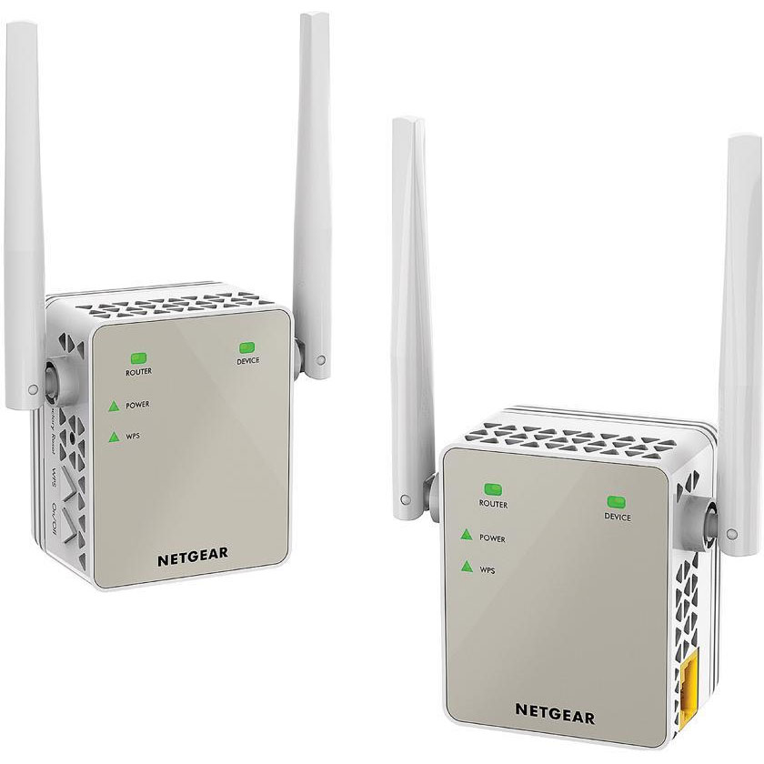 NETGEAR EX6920 AC1200 Wi-Fi Range Extenders 2-Pack Boost Wi-Fi Range for Speeds Up to 1200 Mbps OPEN BOX